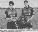 Kevin Carrucan & James Hynes U14 and U16 Captains 2000